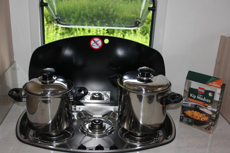 Koken in de camper
