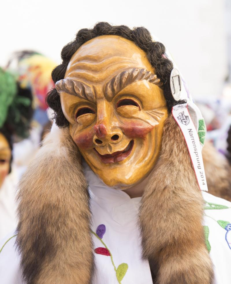 Die Maske des Faselhannes