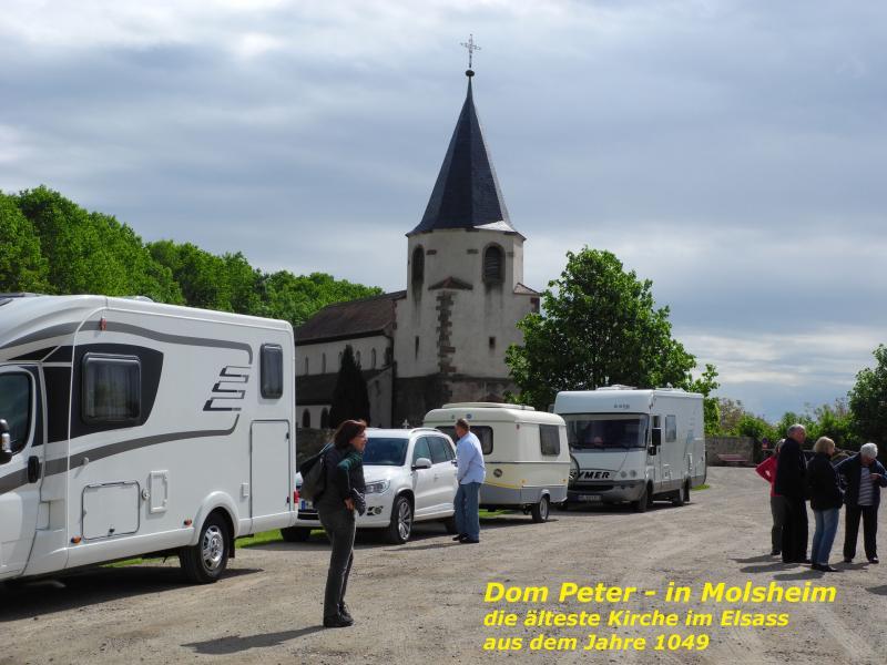 """""""Dom Peter"""" in Molsheim, die älteste Kirche im Elsass"""