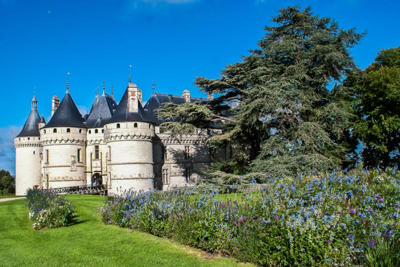 Castle Chamont in the Loire Valley