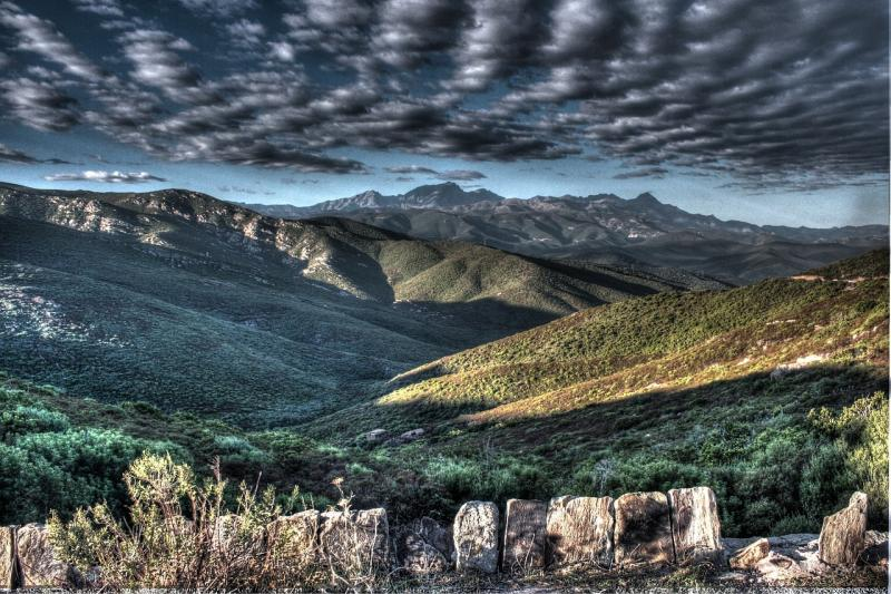 Korsika Landschaft