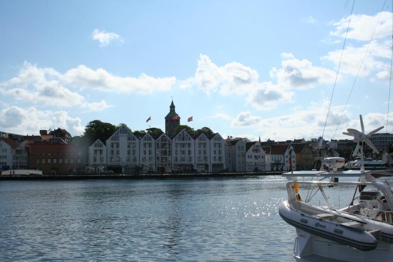 Stavanger City mit Yachthafen