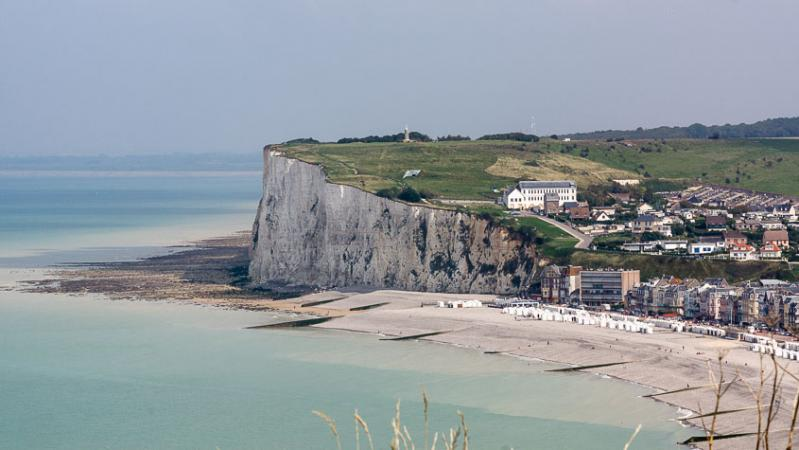 Le Treport in Normandy