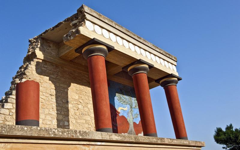 Kreta, Knossos