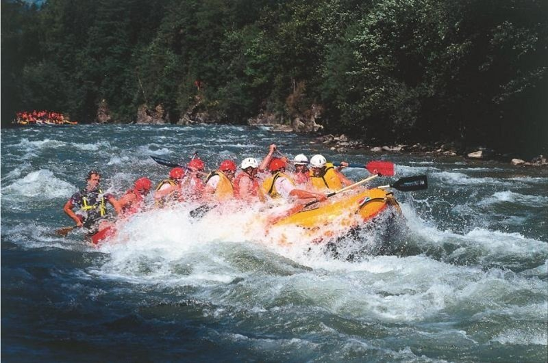 Rafting in the Hohe Tauern National Park