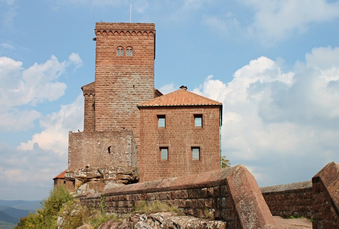 Trifels Imperial Castle on the Sonnenberg in the Palatinate