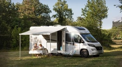 go to the semi-integrated motorhomes by Carado