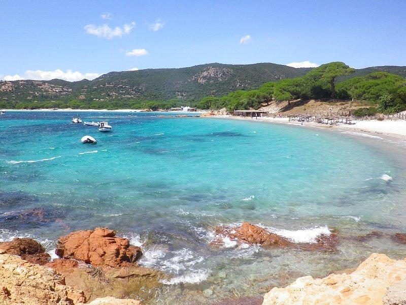 strand Palombaggia Corsica