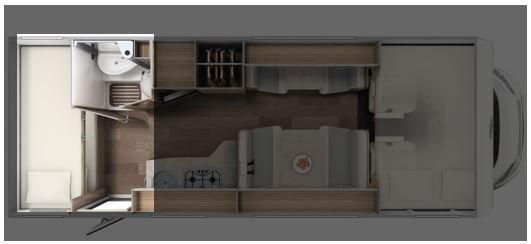 Grundriss Stockbett Alkoven Wohnmobil
