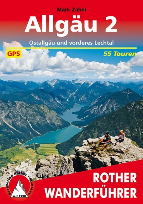 Buchcover Rother Wanderführer Allgäu 2