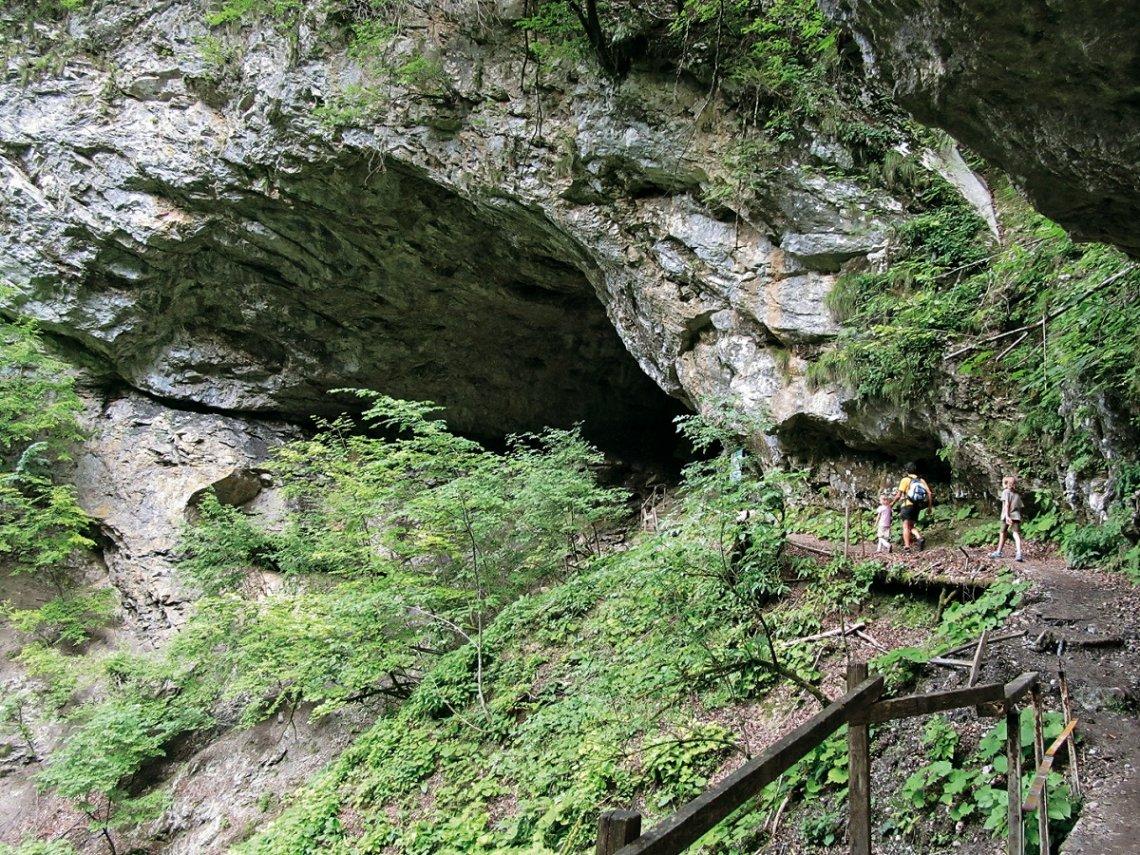 Höhle Muzeva Hisika in Kroatien