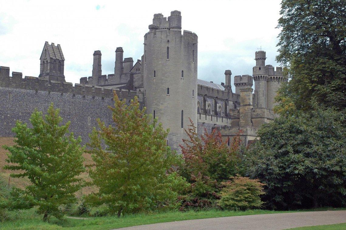 Arundel Castle von außen