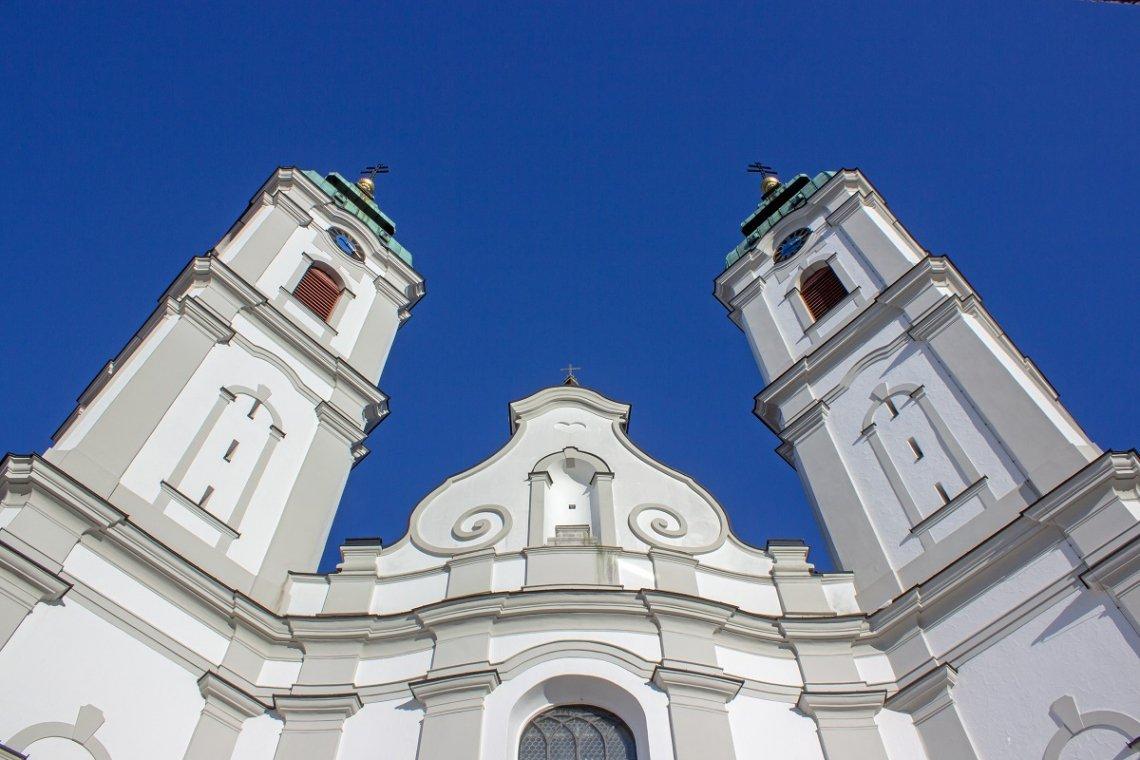 Barocke Stiftskirche St. Peter in Bad Waldsee