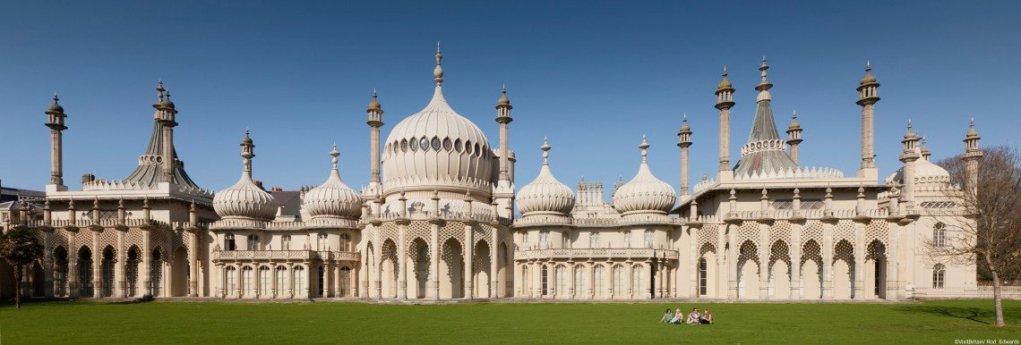 Panorama des Royal Pavilion in Brighton