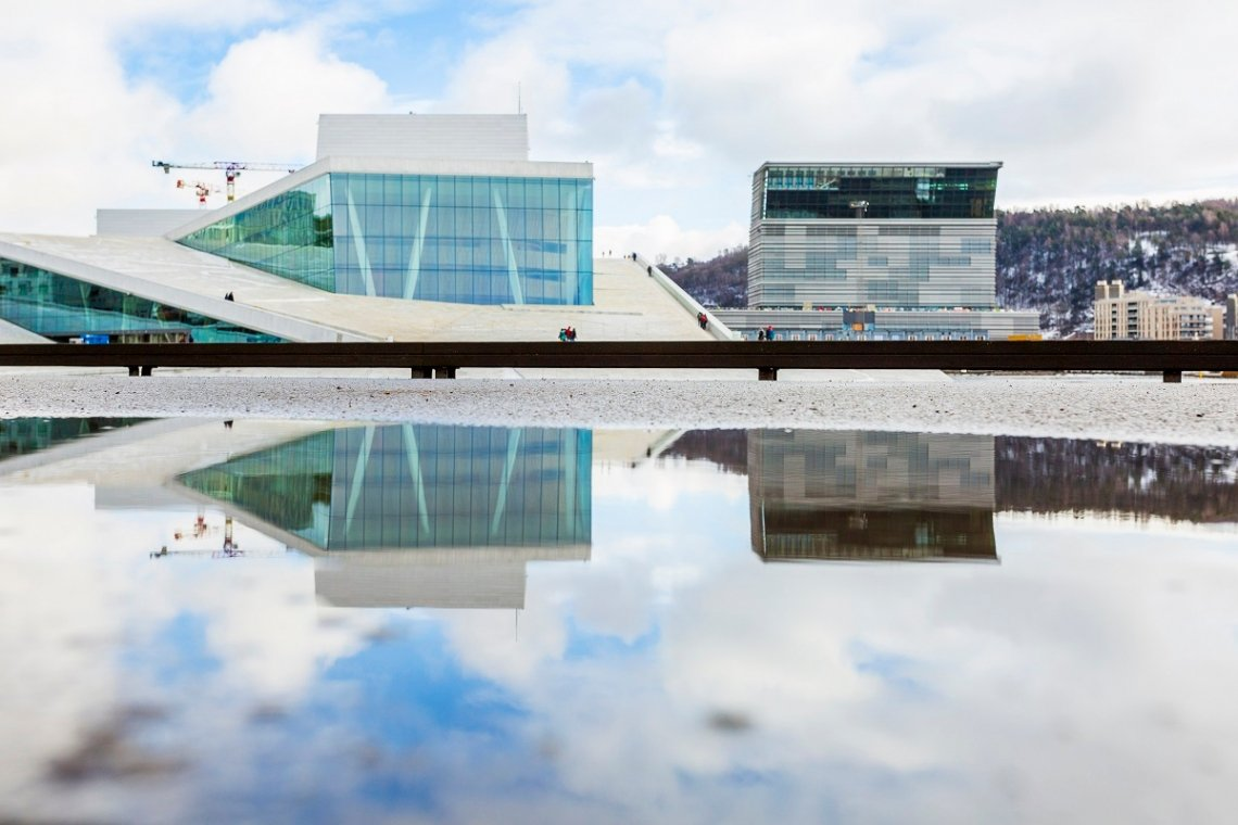 Opera Oslo and new Munch Museum in Oslo