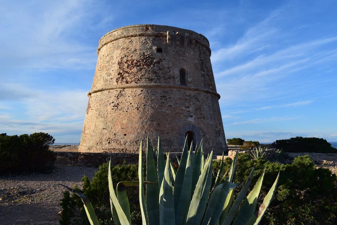 Wachturm auf Ibiza