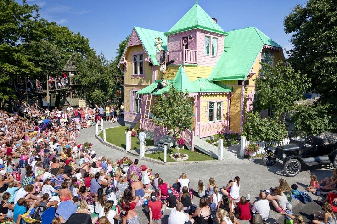 Villa Kunterbunt im Kneippbyn Resort