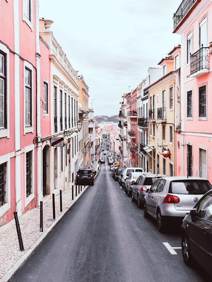 Street in Portugal