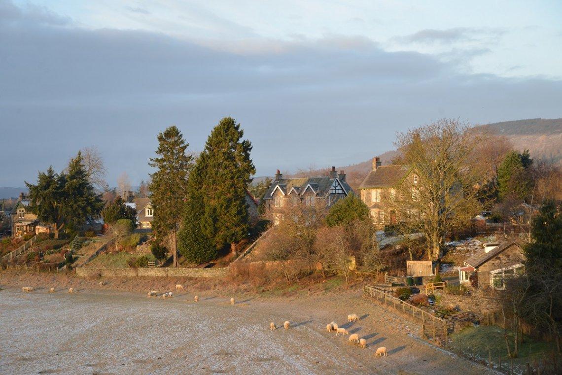 Blair Castle als Teil der Atholl Estates