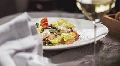Geschmorter Weingarten Pfirsich mit grünen Bohnen