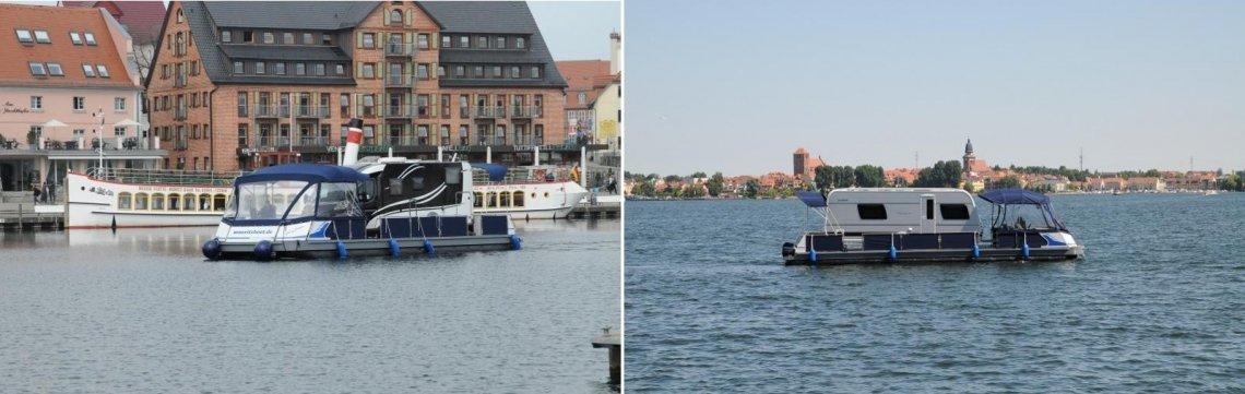 Hausboot © Müritzboot - Watercamper - Vermietung