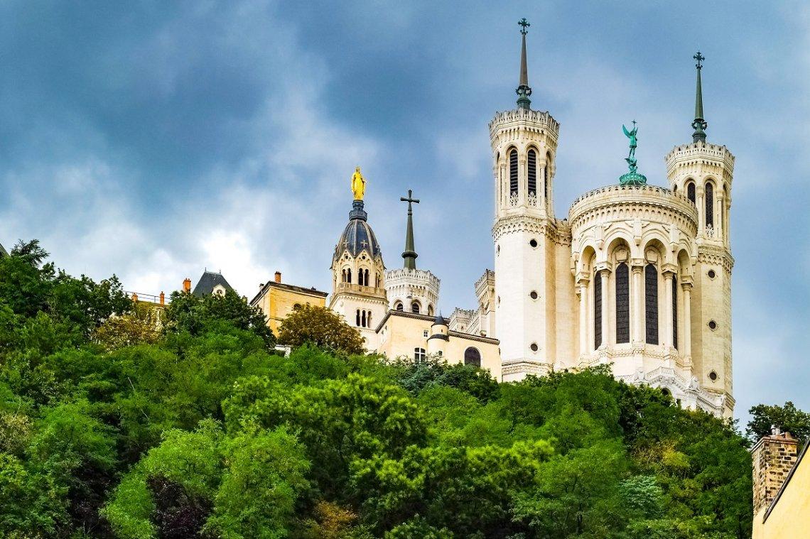 Basilika Notre-Dame de Fourvière in Lyon