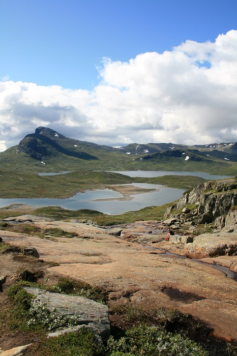 Norway hike Synshorn Valdres
