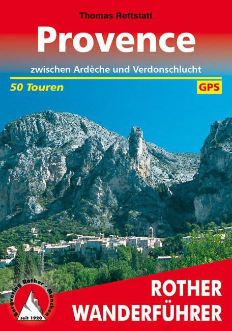 Buchcover Rother Wanderführer Provence