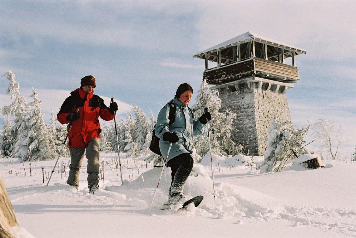 Winter am Mehlisturmkopf im Schwarzwald