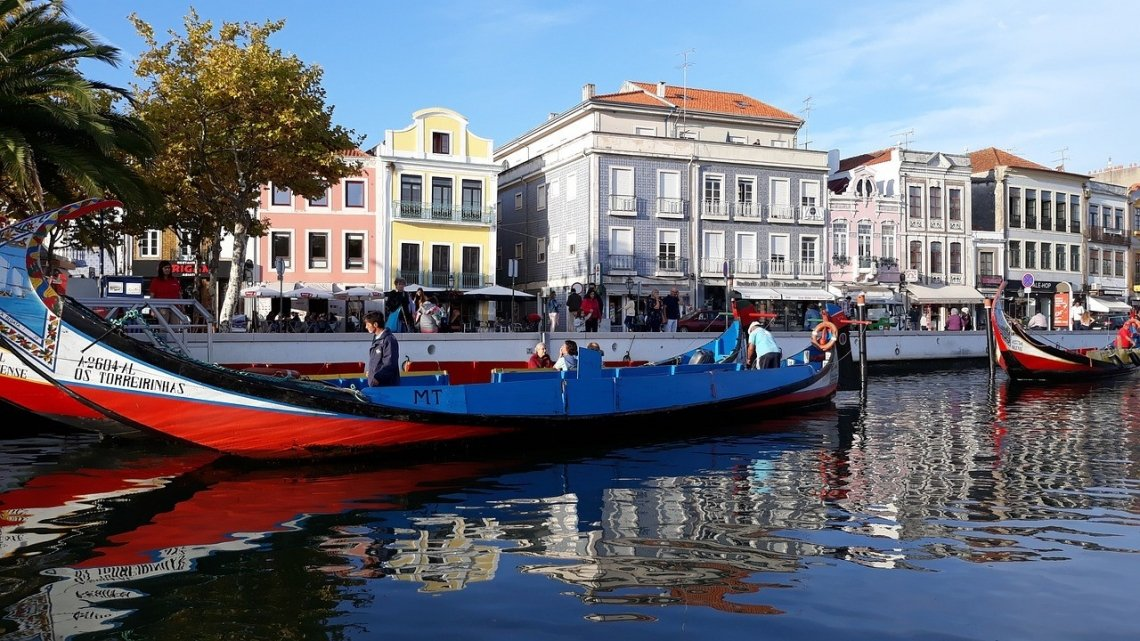 Aveiro, het Venetië van Portugal