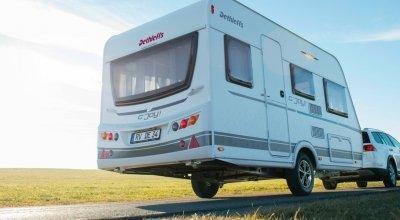Einde van het seizoen: caravan weer in de stalling
