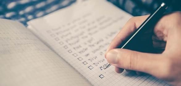 Checkliste Wohnmobil oder Wohnwagen einwinern