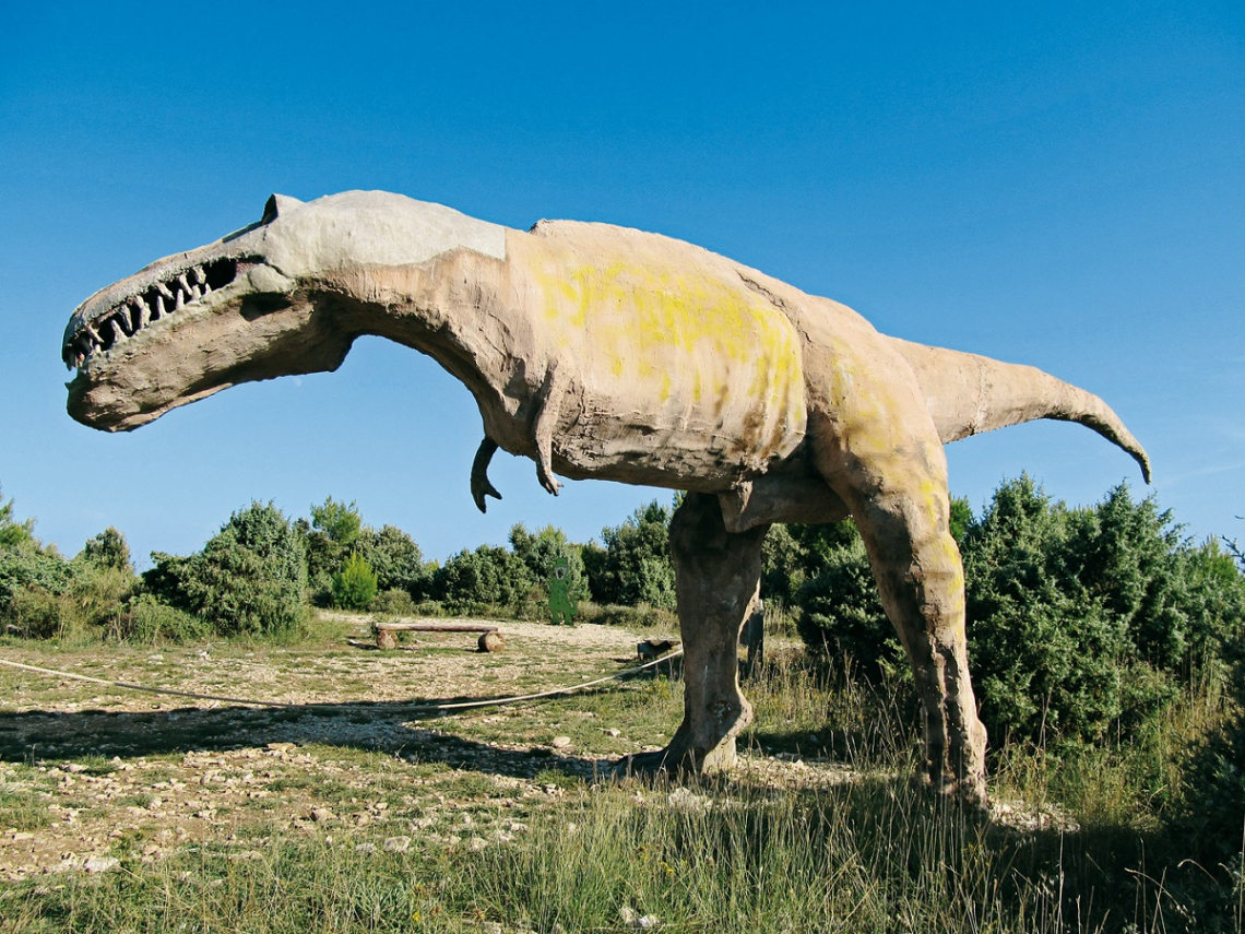 Kroatien Familienwanderung Dinosaurierpfad