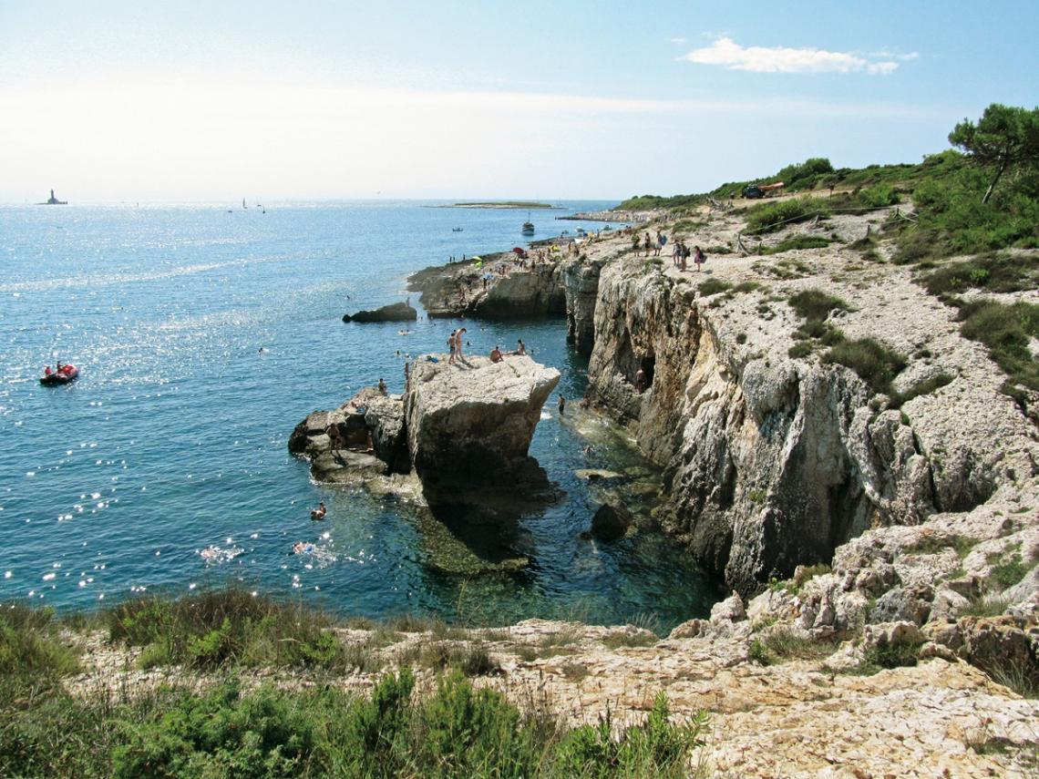 Kroatien Halbinsel Kamenjak Bucht Velika Kolumbarika