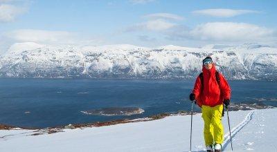Skitouren in Nordnorwegen – Die Lyngenalpen