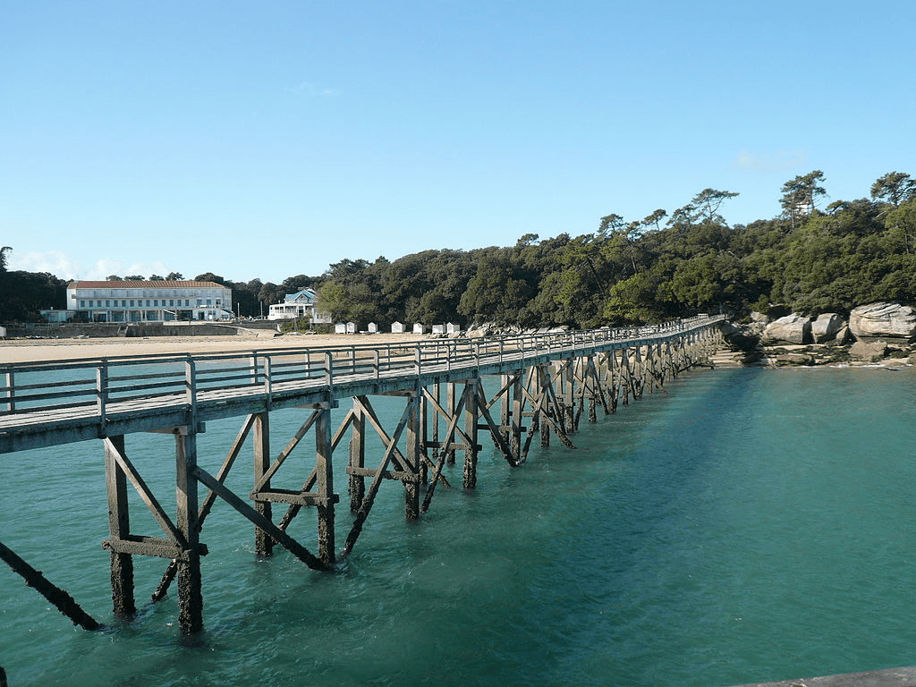 Het eiland Noirmoutier