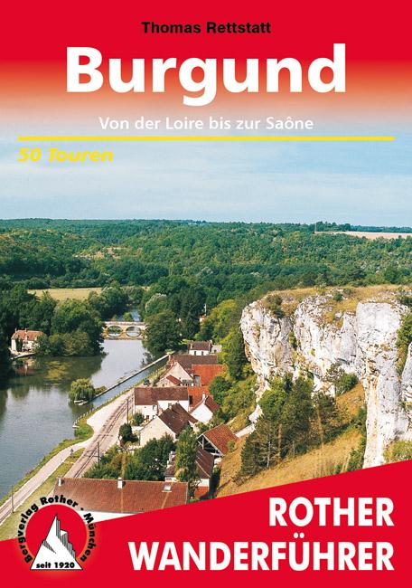 zum Wanderführer Burgund vom Rother Bergverlag