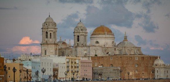 view of the little Havana in Cadiz
