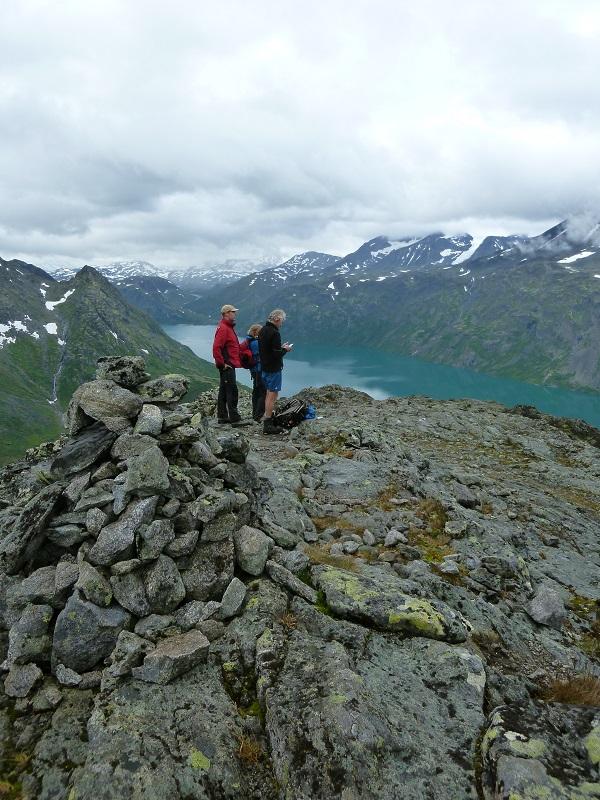 Wanderung Knutshoe Norwegen Jotunheimen