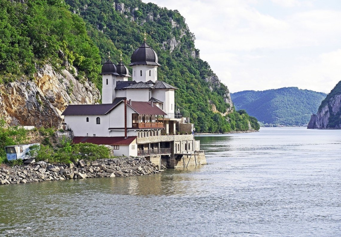 Het landschap van Servië is prachtig