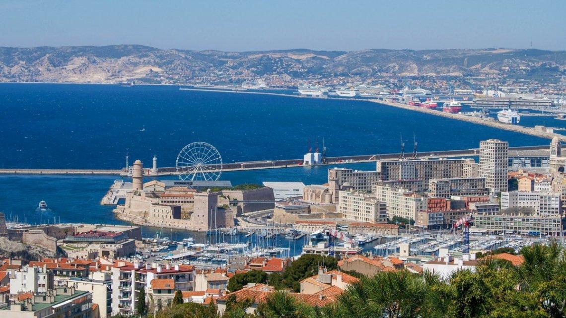 Panoramic view of Marseille