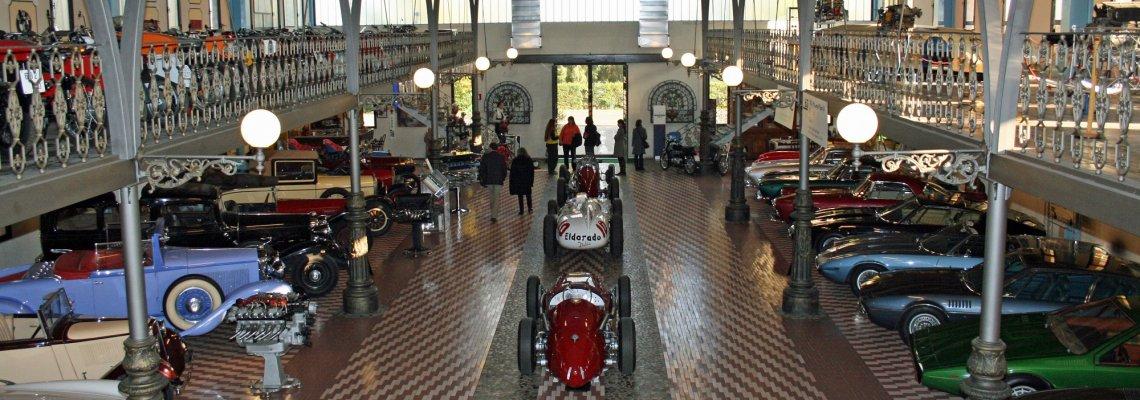 oldtimersammlung im Panini-Museum bei Modena