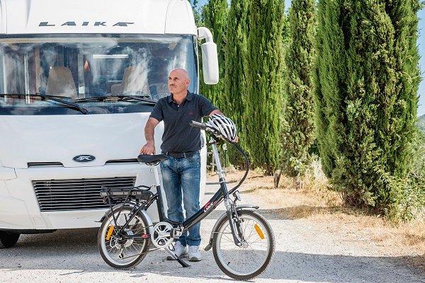 Klapp-e-Bike von Laika