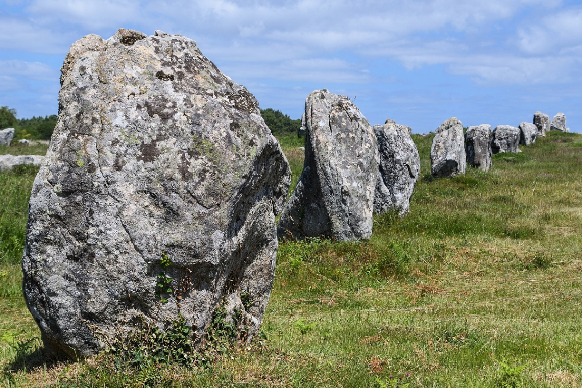 Megaliths of Carnac, Brittany