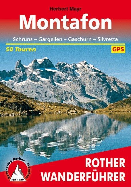 Ansicht Buchcover Rother Wanderführer Montafon