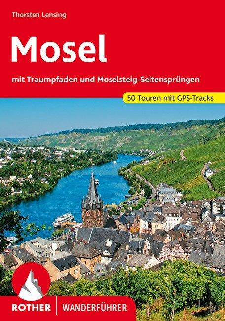 Buchcover Rother Wanderführer Mosel