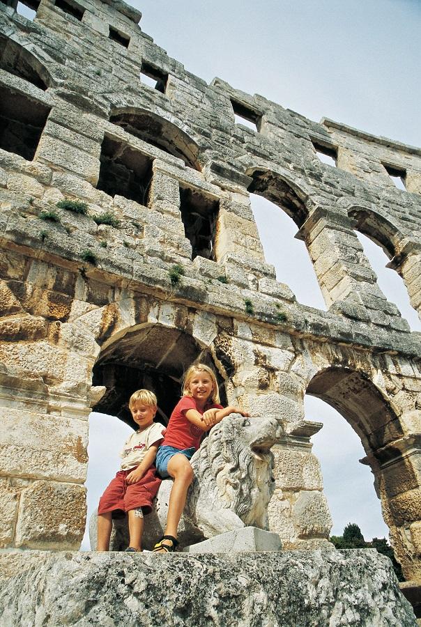 Kroatien Amphitheater Pula
