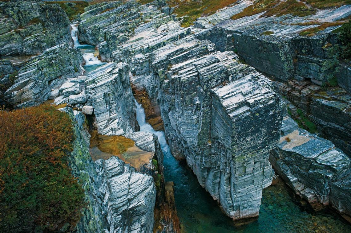 Norwegen Rondane Canyon Imbertglupen
