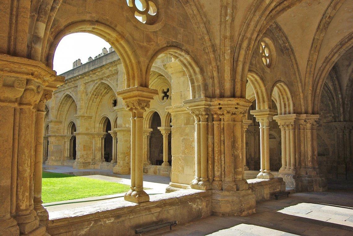 Igreja de Santa Cruz monastery in Coimbra, Portugal