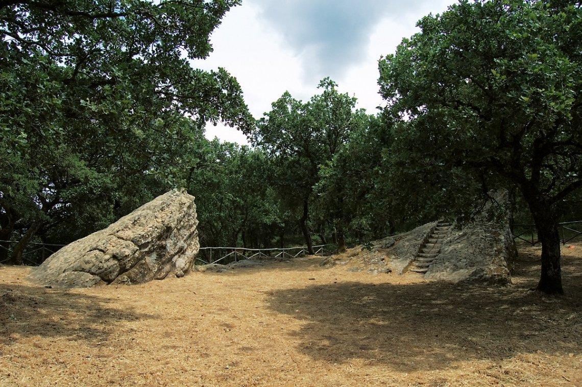 Blick auf die Königskanzel Pulpito del Re